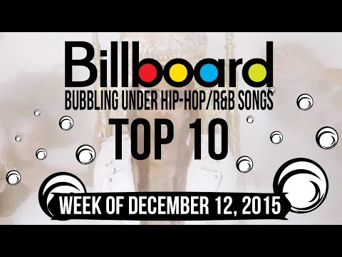 Top 10 - Billboard Bubbling Under Hip-Hop/R&B Songs | Week of December 12, 2015 | Charts