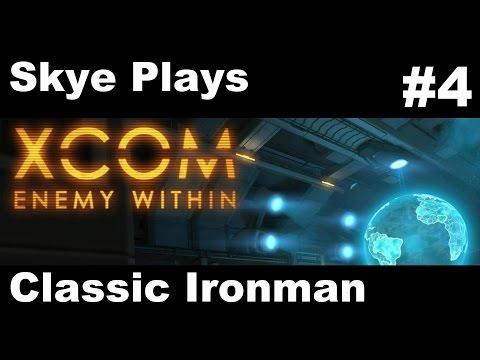 XCOM Enemy Within Gameplay Part 4 ►Mission 4 - The Wrecking Crew ►Classic Ironman