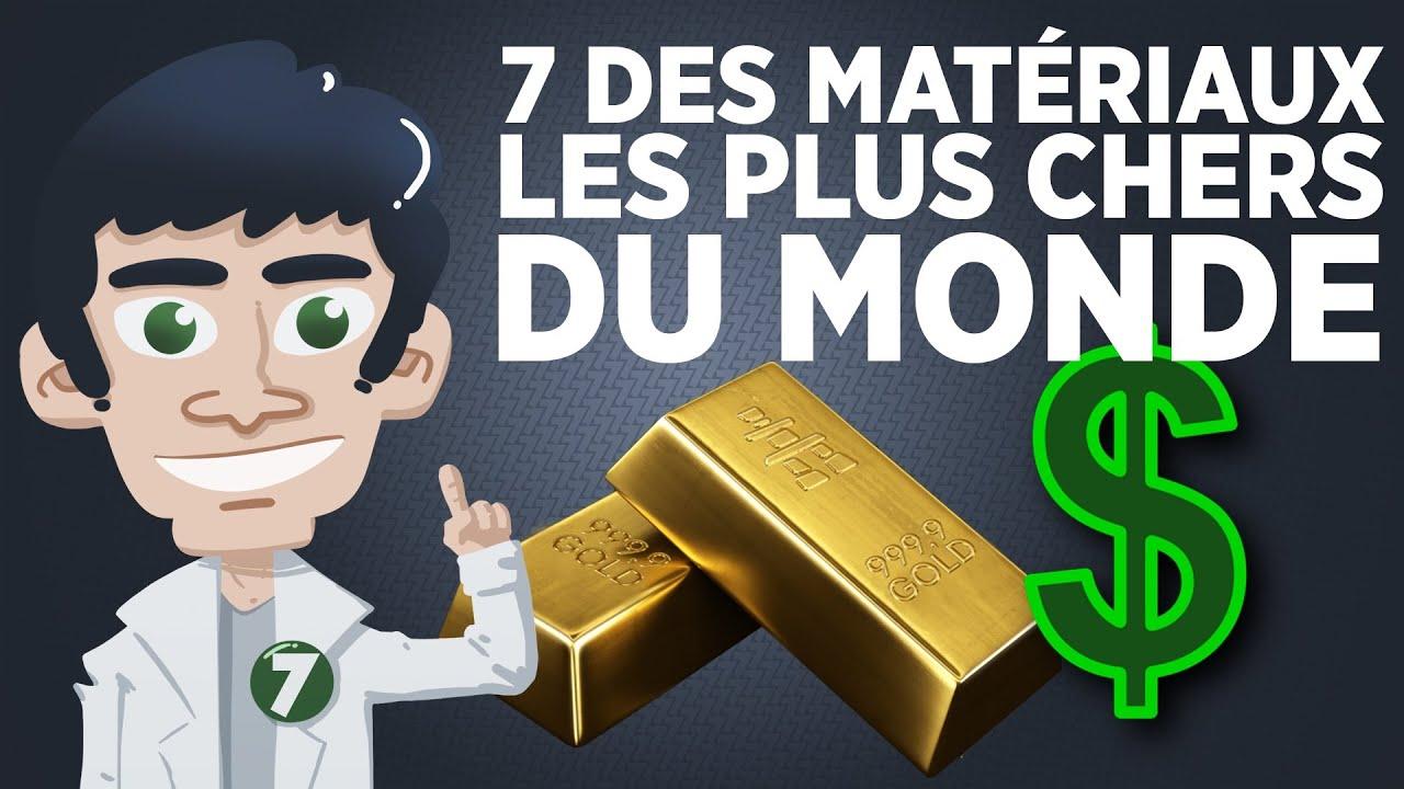 7 des matériaux les plus chers du monde