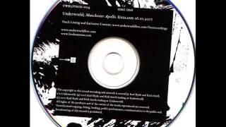 Underworld - Manchester Apollo. England 16.10.2007