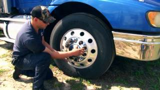 How to install axle covers on a semi truck | Raney