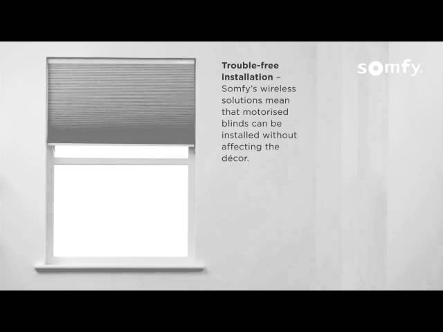 1 Tilt and Lift 25 RTS - Somfy electric blinds - introduction