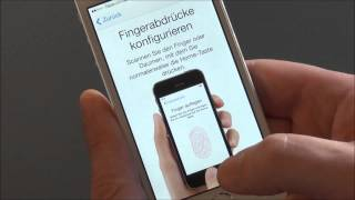 Apple Touch-ID Fingerabdruck-Sensor | So geht`s (deutsch HD)