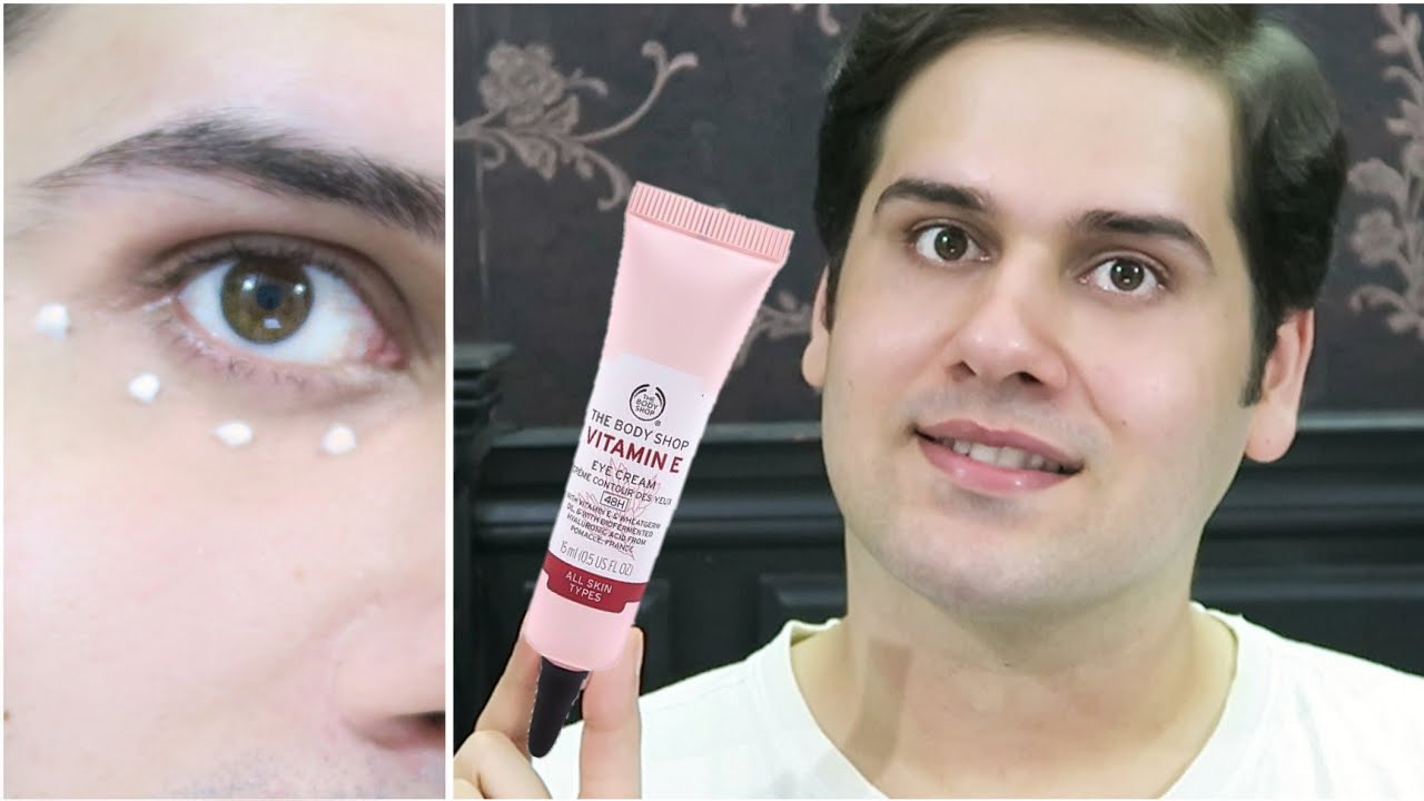 The Body Shop Vitamin E Eye Cream Review Youtube