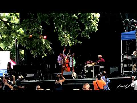 Tia Fuller at 25th Charlie Parker Jazz Festival - Part 1