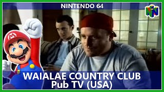 Pub N64 : Waialae Country Club - True Golf Classics (Usa) / TV