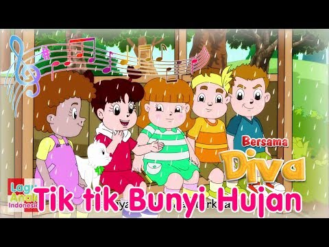 Tik Tik Bunyi Hujan | Diva Bernyanyi | Lagu Anak Indonesia