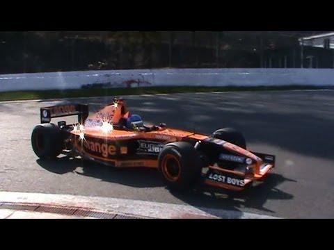 Arrows F1 Ex car Jos Verstappen v10 sound