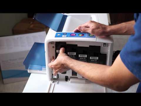 Unboxing Xerox Phaser 6000