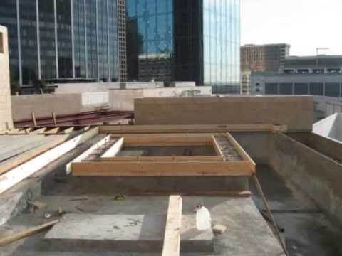 Moasic Building Roof Top Pool Youtube