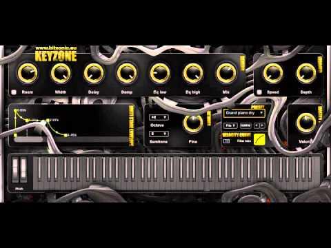 Download Free Piano / accordion plug-in: Keyzone by Bitsonic