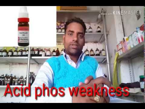 Acid phos homeopathic medicine in hindi by dr ajay srivastava from YouTube · Duration:  11 minutes