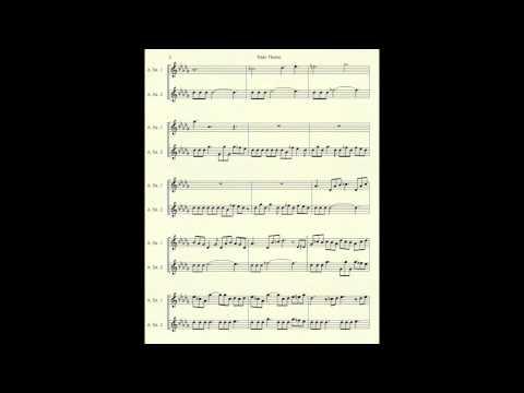 Computer Music Book for Alto Sax