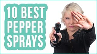 Best Pepper Spray 2016? TOP 10 Pepper Sprays | TOPLIST+