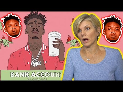 Mom REACTS to 21 Savage - Bank Account (Official Music Video)
