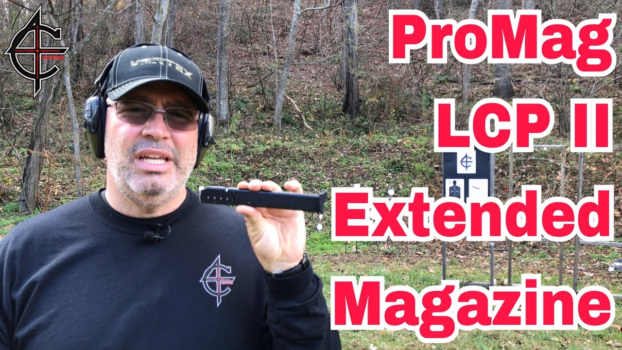 Ruger LCP II Extended Magazine Promag LCP 2