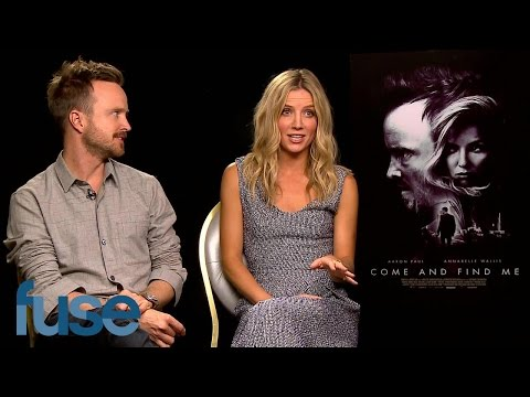 Aaron Paul & Annabelle Wallis Discuss Their New Movie, Come and Find Me