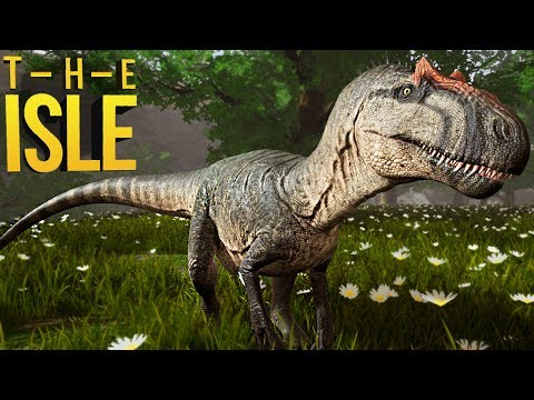 The Isle Realismo - Sistema De Territórios, Albertosaurus Chegando! | Dinossauros (#139) (PT-BR)