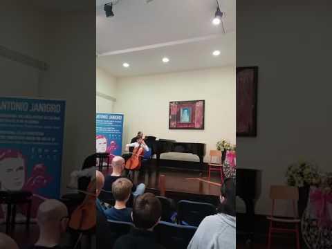 Benedek Balog (Hungary) - 11th Antonio Janigro International Cello Competition
