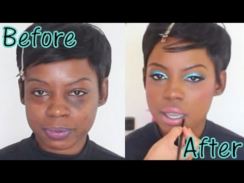 Full Makeup Makeover Transforamtion Time Lapse