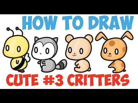 How To Draw Kawaii Animals Characters Cute Kawaii Step By Step