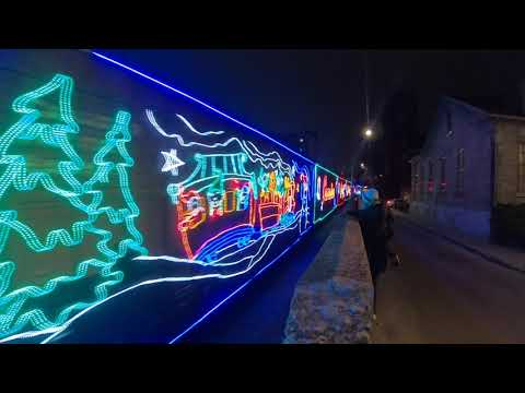 Canadian Holiday Pacific Train 2019 Hamilton , Ontario Canada