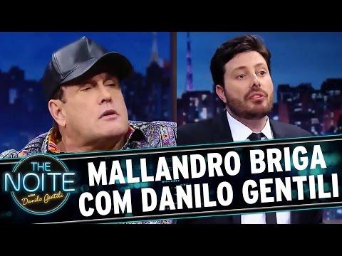 The Noite (01/09/16) - Mallandro causa mal estar durante entrevista