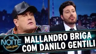 The Noite (01/09/16) - Mallandro causa mal estar durante entrevista