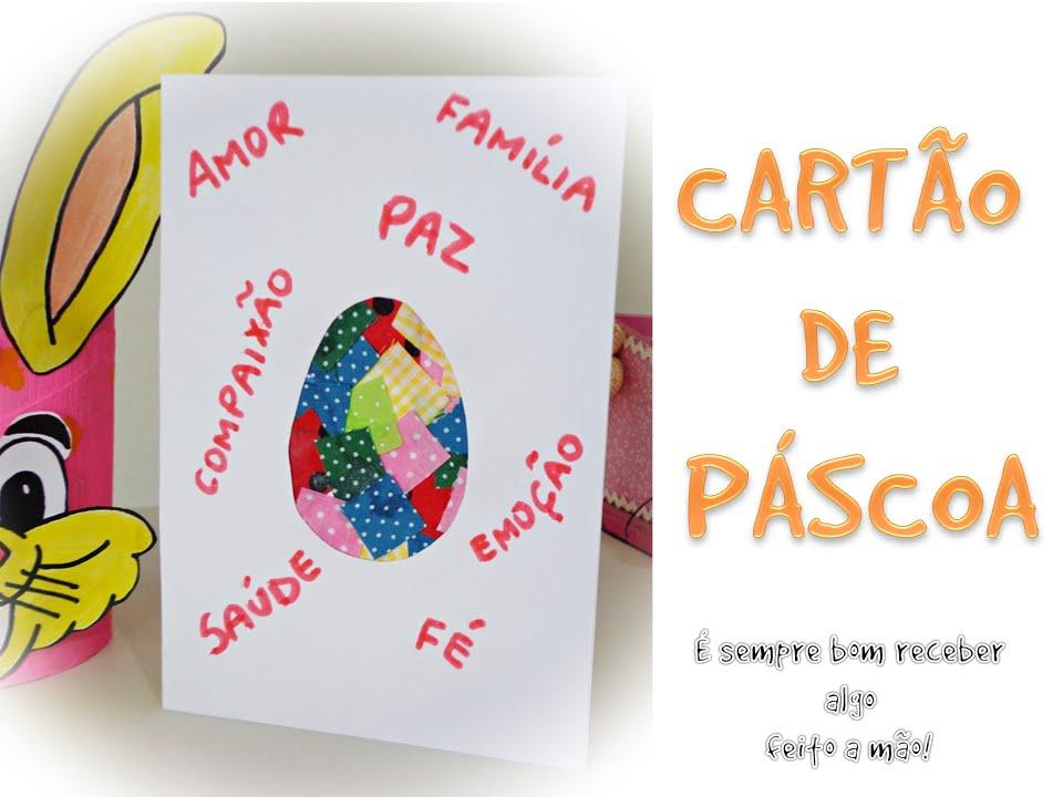 Cartão De Páscoa / Lembrancinha
