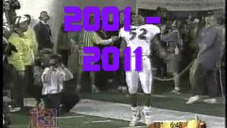 BALTIMORE RAVENS NFL 52 RAY LEWIS RAPPING MOTIVATION SONG
