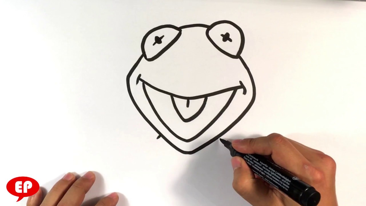 How To Draw Kermit The Frog Easy Pictures To Draw