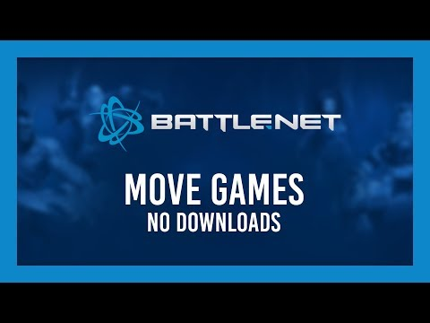 Move Games To SSD Or Another PC | No Downloads! Battle.net/Blizzard