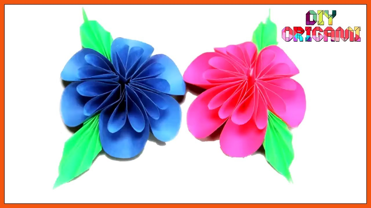 Learn How To Make Origami Flowers The Beginners Tutorial To