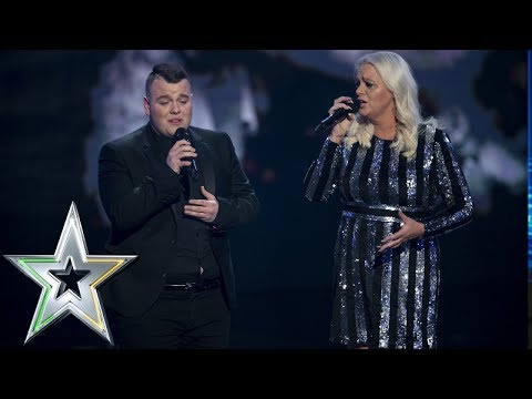 Mother & Son duo Sharon and Brandon earn Wildcard spot  Ireland&39;s Got Talent 2019