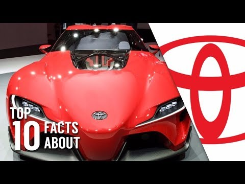 TOP 10 INTERESTING FACTS ABOUT TOYOTA