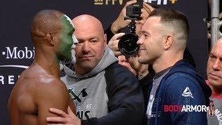 UFC 245: Обзор церемонии взвешивания