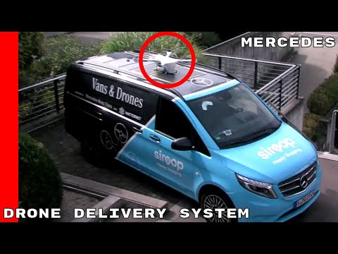 Mercedes Vans & Drone Delivery System