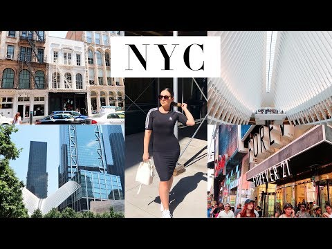 NEW YORK CITY VLOG! Time Square, World Trade Center & Highlights