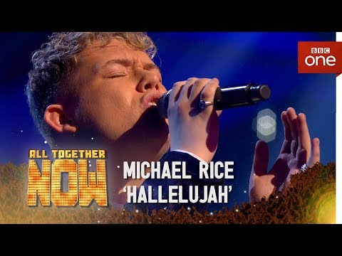 Winner Michael Rice sings 'Hallelujah' in the Sing Off - All Together Now: The Final
