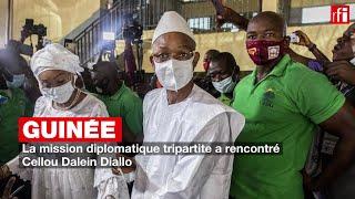Guinée : la mission diplomatique tripartite a rencontré Cellou Dalein Diallo