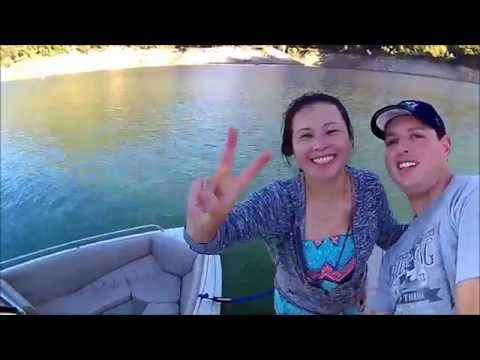 Lake Oroville 2016 - Floating Campsite
