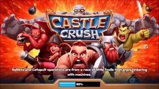 NEW! BLACK KNIGHT vs SKULL KING!! CLASH ROYALE ALTERNATIVE!! - NEW CASTLE CRUSH LEGENDARY!