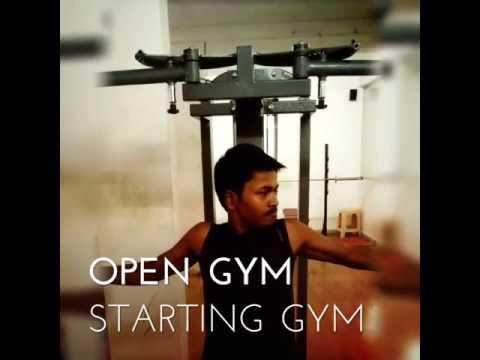 shoulder workout gym r k b