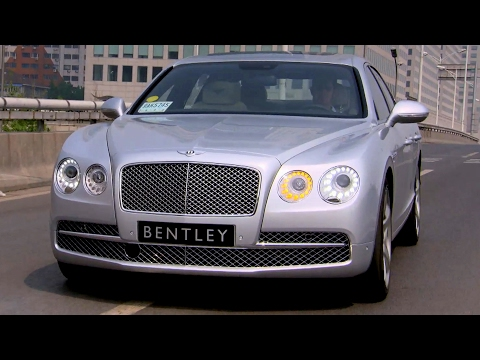 Testing The Bentley Flying Spur In Beijing - Fifth Gear