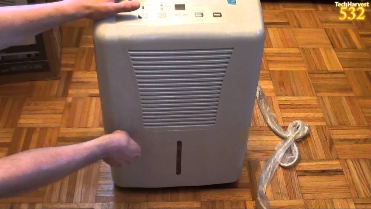 GE 70 Pint Dehumidifier Unboxing YouTube