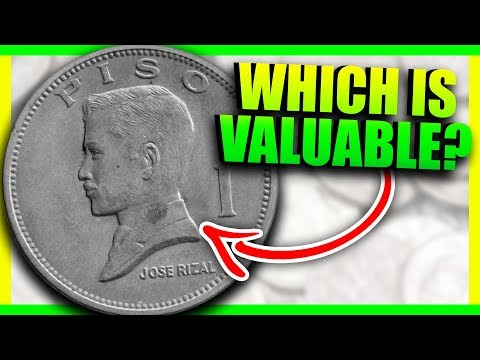 1 PISO COINS TO LOOK FOR - PHILIPPINES COINS WORTH MONEY!!