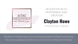 Finances for Actors - Interview with Clayton Howe