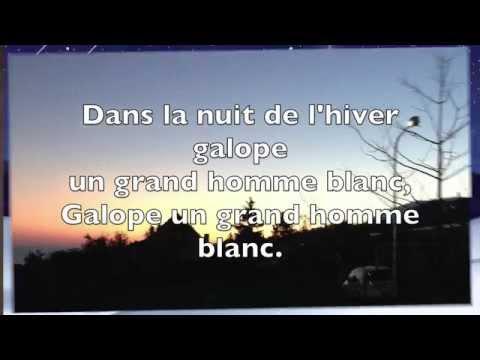 Chanson pour les enfants l'hiver - Jacques Prévert (Karaoké)