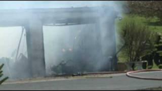04.24.09 - Structure Fire, 3601 Lehigh Drive, Lehigh Township, PA