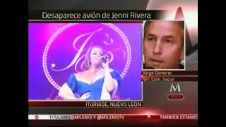 Muere Jenni Rivera en un accidente de avión - Jenny Rivera dies in a plane crash